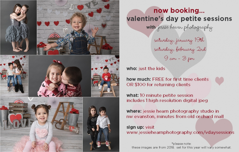valentine's day petite sessions » jessie hearn photography